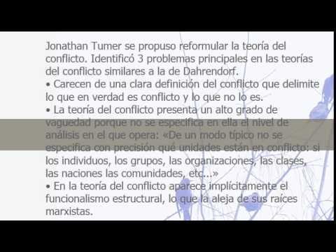 Teoría Sociológica Las teorías del estructural-funcionalismo y del conflicto social.