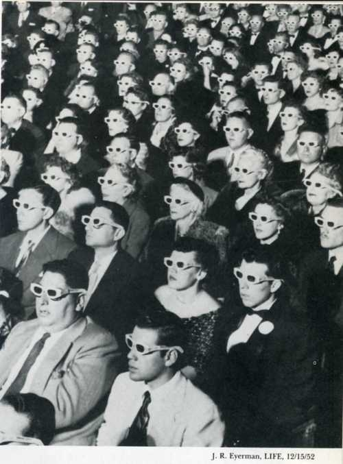 3D: Bwana Devil, Glasses, Full Length, Life Magazines, Open Night, Paramount Theater, 3 D Movies, Photo, 3D Movies