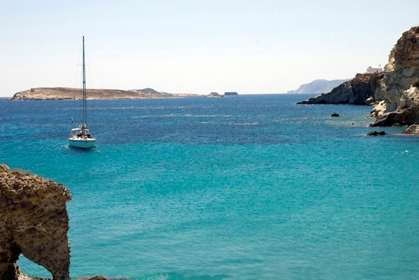 Sailing around the Greek islands with Mystic Blue Eco Sailing & Diving