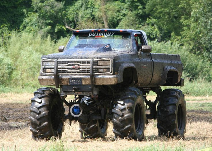 nice jacked up mud truck | Jacked Up Trucks | Pinterest ...