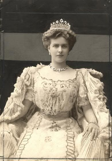 """Her Serene Highness Princess Victoria Alice Elizabeth Julia Marie (""""Alice"""") of Battenberg was born in the Tapestry Room at Windsor Castle in Berkshire in the presence of her great-grandmother, Queen Victoria. She was the eldest child of Prince Louis of Battenberg and his wife Princess Victoria of Hesse and by Rhine. Married Prince Andrew of Greece. Mother of Prince Philip, the Duke of Edinburgh."""