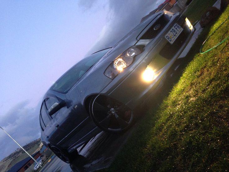 Our #Ford #XR6Turbo - #Barra #I6 #turbo #boost #falcon