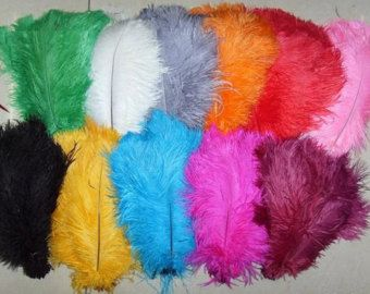 Discount item 100pcs ostrich feather for wedding by weddingfeather