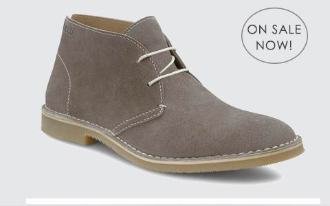 Dessert boots. Comfortable. Versatile and packable. Tick. Tick. Tick.
