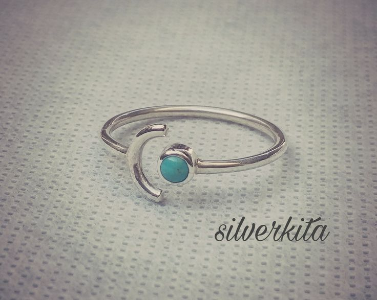 Silver ring woth torquise stone #silverjeweley #jewelry #sterlingsilver #torquise
