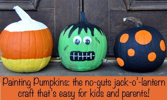 Pumpkin Painting Marysa Likes Painting Them Better Than