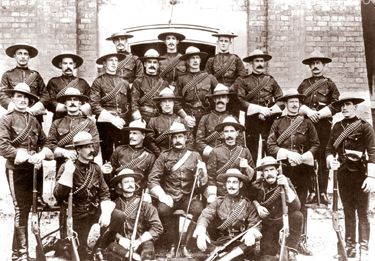During the South African War, members of the North West Mounted Police Force had been given leave of absence to fight with the 2nd Battalion, Canadian Mounted Rifles ...
