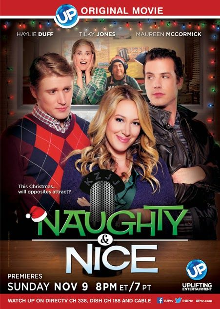 Its a Wonderful Movie - Your Guide to Family Movies on TV: UP Original Christmas Movie NAUGHTY & NICE starring Haylie Duff