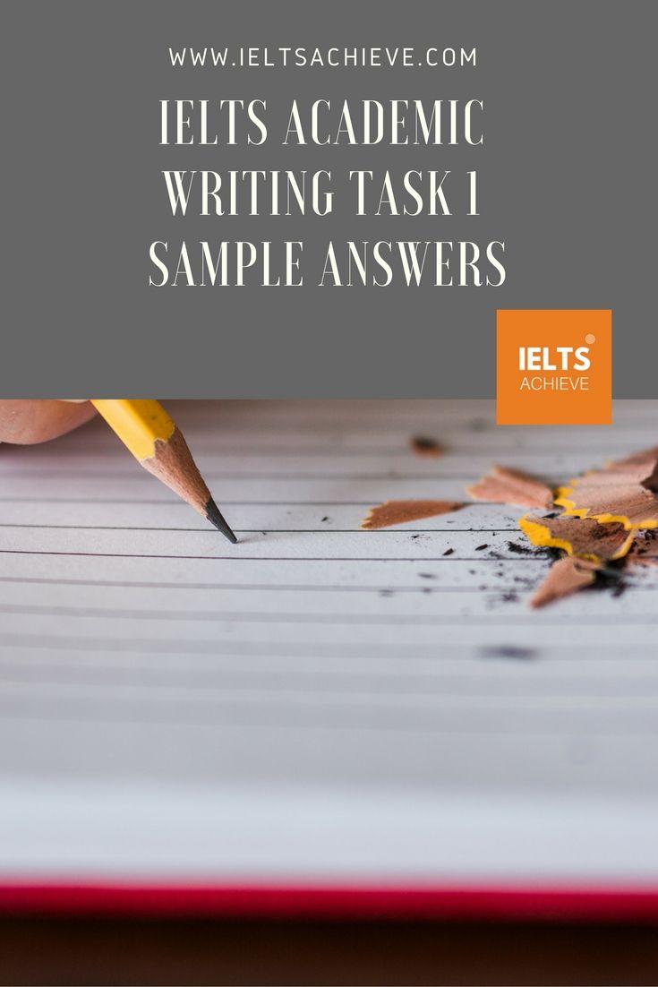 IELTS Academic Writing Task 1 Sample