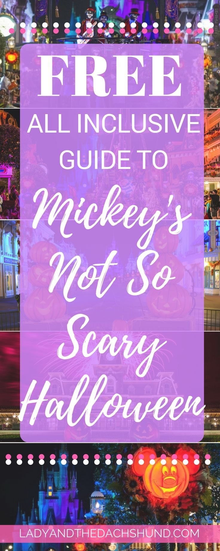 Mickey's Not So Scary Halloween Party 2017 All Inclusive Guide. Tips, Tricks, and Hacks for the best Mickey's Not So Scary Ever! Save Time, Money, and Headache while getting the most out of your Mickey's Not So Scary Halloween Party at Disney World!