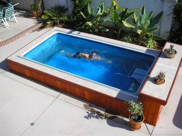 Pin By Endless Pools On Endless Pools Endless Pool Small Backyard Landscaping Backyard Pool Designs