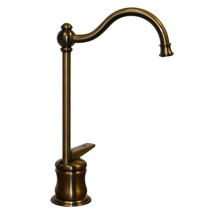 """Forever Hot 6.625"""" One Handle Single Hole Cold Water Dispenser Faucet with Traditional Spout"""