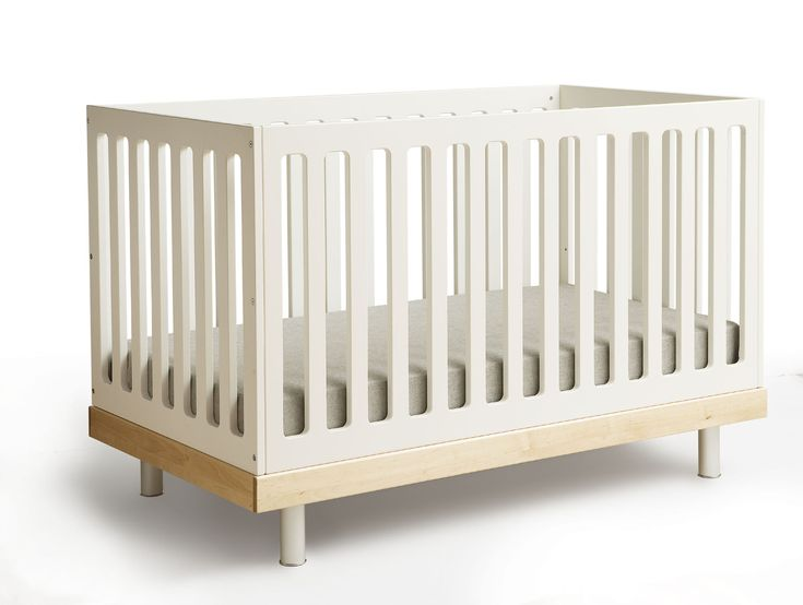 Adorable Baby Crib White Color Design