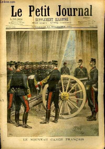 LE PETIT JOURNAL - supplément illustré numéro 365 - LE NOUVEAU CANON FRANCAIS - CONVOI D'INSURGES MAROCAINS PRISONNIERS