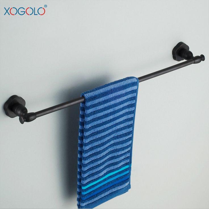 Дешевое Xogolo бар ванной полотенце одного выстрела черный древний европейский широкий меди ванной вешалка для полотенец аксессуары для ванной комнаты 6524b, Купить Качество Бамбуковые полы непосредственно из китайских фирмах-поставщиках: