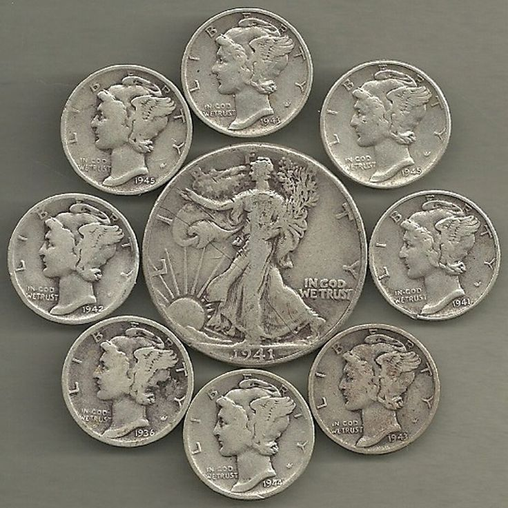 "#New post #Walking Liberty Half & Mercury Dimes - 90% Silver - US Coin Lot - 9 Coins  http://i.ebayimg.com/images/g/qiAAAOSwx6pYpbI9/s-l1600.jpg      Item specifics   Seller Notes: ""Overall a pretty nice group of 90% silver coins.""      									 			Grade:   												Ungraded  									 			Composition:   												Silver    									 			Circulated/Uncirculated:   												Circulated  									 			Country/Region of... https://www.shopnet.one/walking-lib"