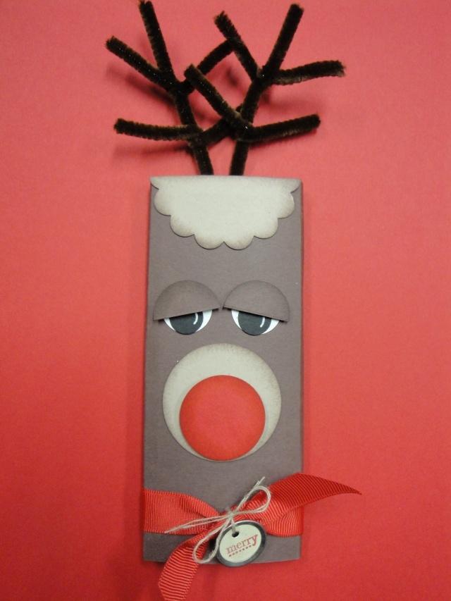 Candy Bar Reindeer for 1st grade class