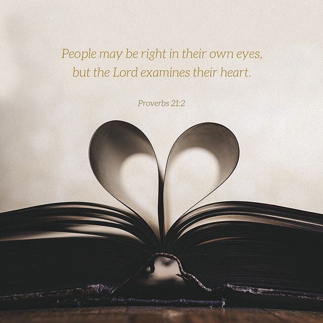 Proverbs 21:2 KJV 02/23/16 #holybible #youversion #proverbs