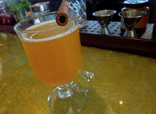Virtual Happy Hour: Hot Pumpkin Buttered Rum at Cecconi's
