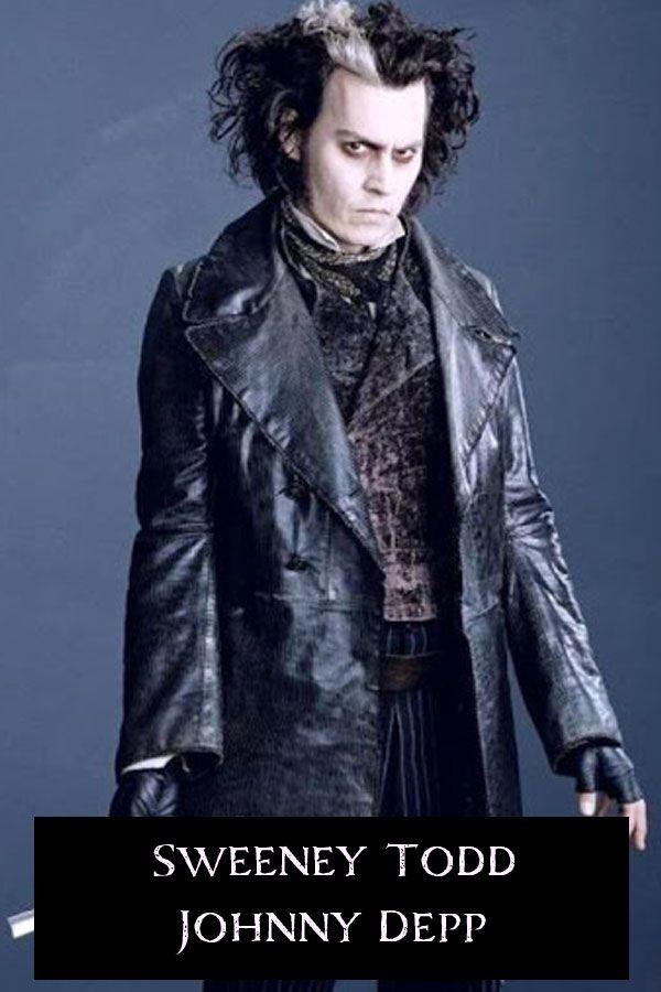 Sweeney Todd Demon Barber Johnny Depp Black Jacket Coat Sweeney Todd Johnny Depp Johnny Depp Movies