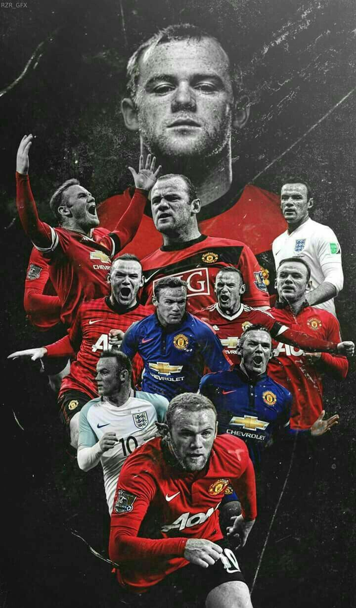 Wayne Rooney of Man Utd wallpaper.