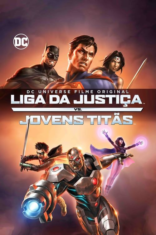 Justice League vs. Teen Titans 【 FuII • Movie • Streaming