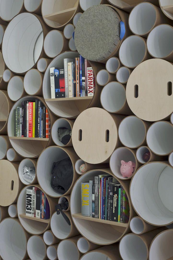 Event U0026 Messe Design Ideen: Modulares Regal Und Wandgestaltung Aus  Kartonröhren | Eveosblog: Blog