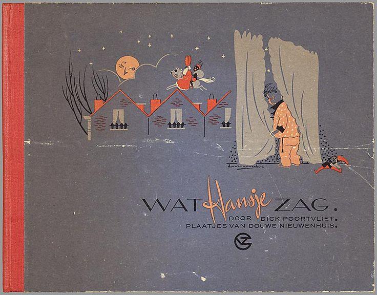 Wat Hansje zag / door Dick Poortvliet ; plaatjes van Douwe Nieuwenhuis 1948