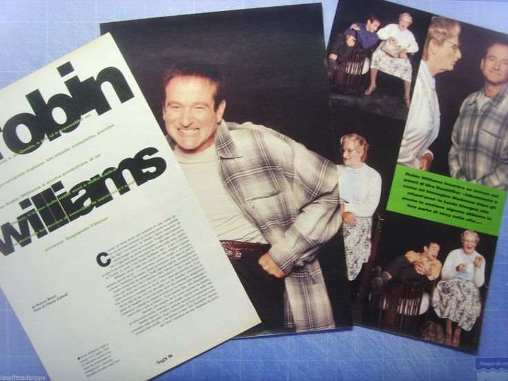 MAX994 Ritaglio Magazine, 1994 - Mrs Doubtfire