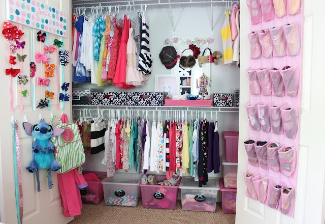 Kids closet organization ideas great space saver baby - Space saving closet ideas ...