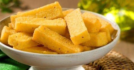 Receita de como fazer angu frito passo a passo. 5 copos de água fria 2 copos de fubá mimoso 2 sazons galinha, legumes ou carne (...
