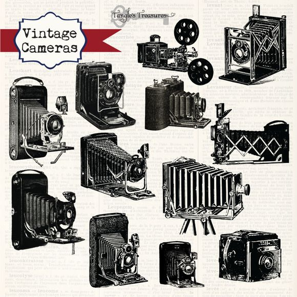 Check out Vintage Cameras on Creative Market.
