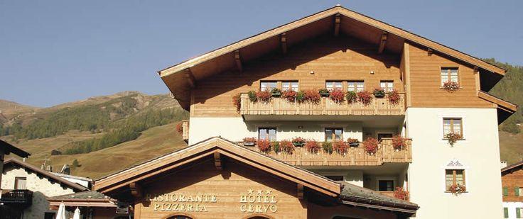 Hotel Cervo di Livigno: moderno wellness e camere luminose ed accoglienti