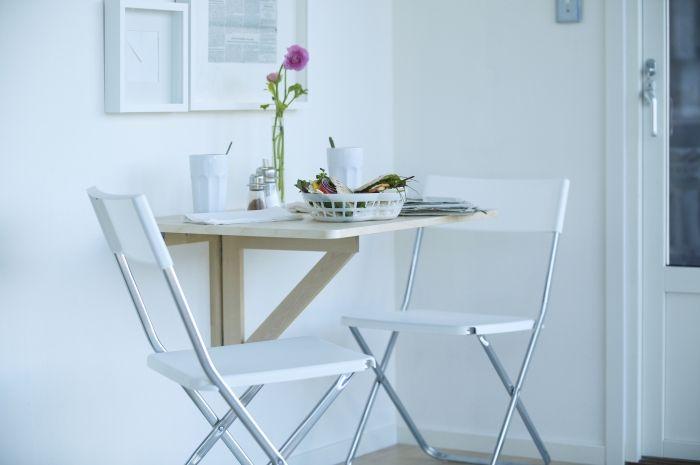 NORBO klaptafel voor wandmontage | #IKEA #keuken #eetkamer #tafel #eettafel #studentenkamer #kleineruimte