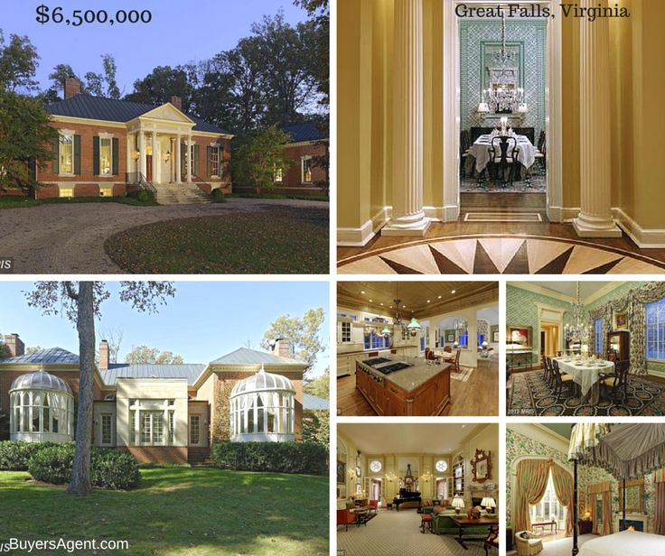 Homes for sale in Great Falls, Virginia. Why has this house been on the market - forever? Buyer's Edge DC, MD, VA BuyersAgent.com