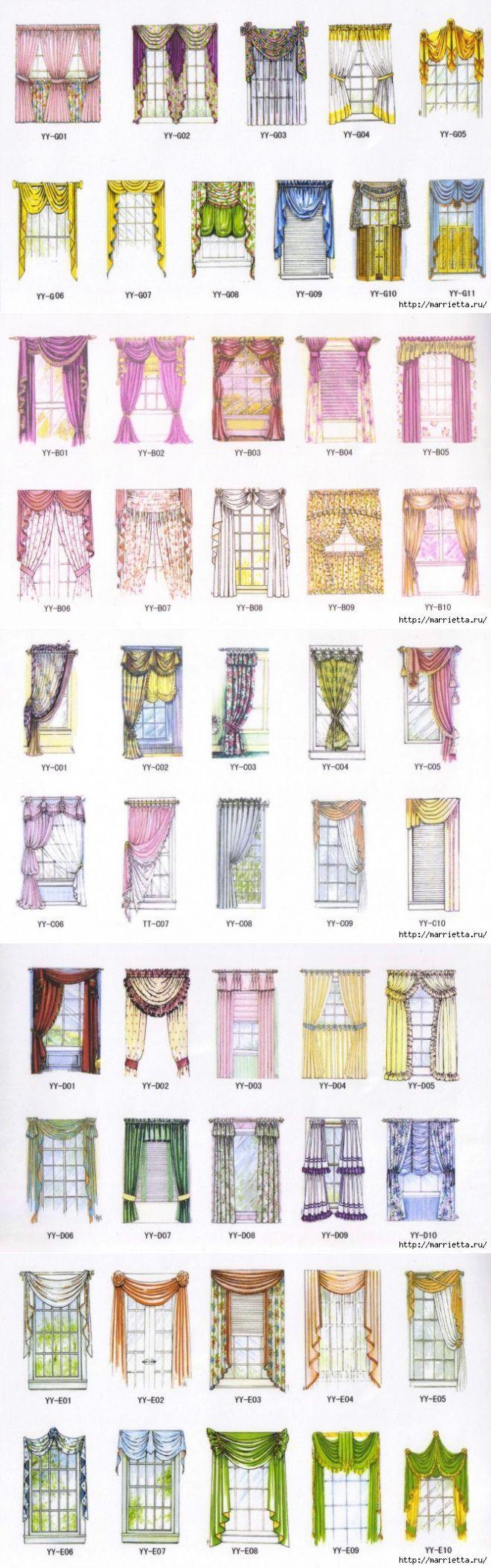 Types of curtains styles -  Curtain Stylescurtain
