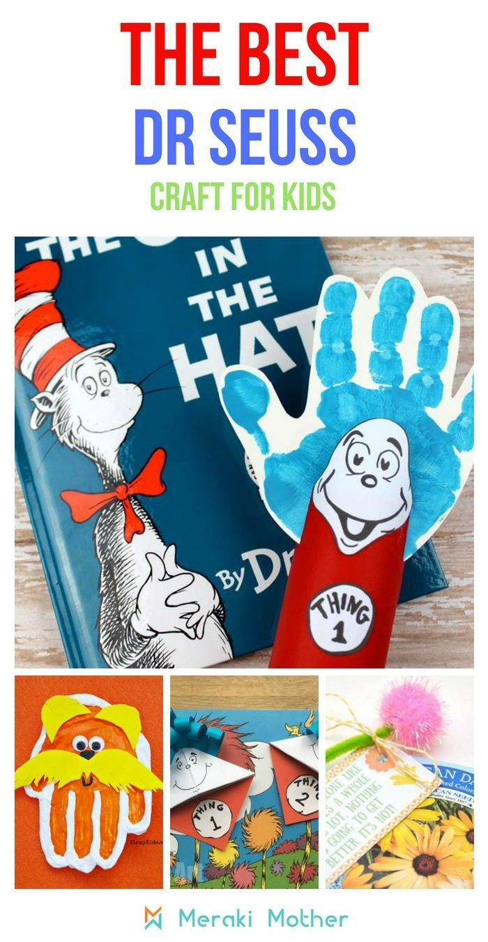 Fun And Easy Dr Seuss Crafts For Kids Kids Activities Pinterest