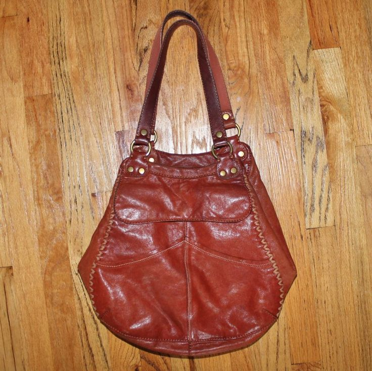 ... Lucky Brand Hobo Satchel Brown Italian Leather Purse LuckyBrand httpr. f9417e3898