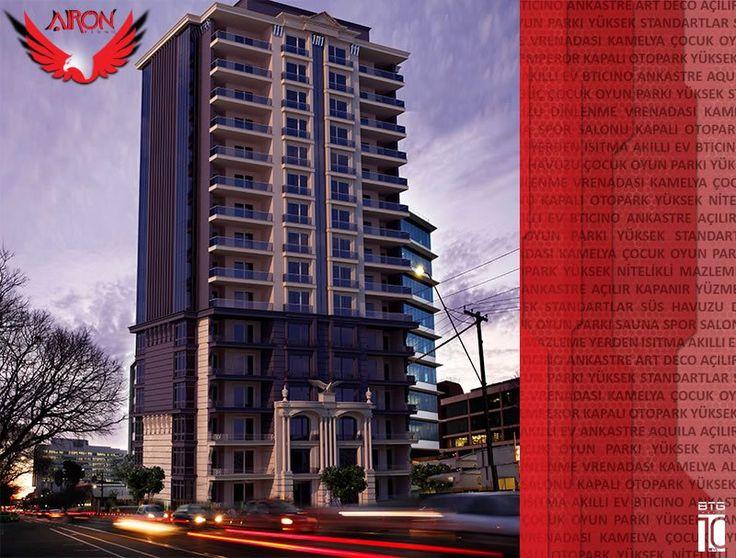 Airon Residence - 3 Boyutlu Görünüm, Fiyatları, Nerede, Resimleri, Kat Planları