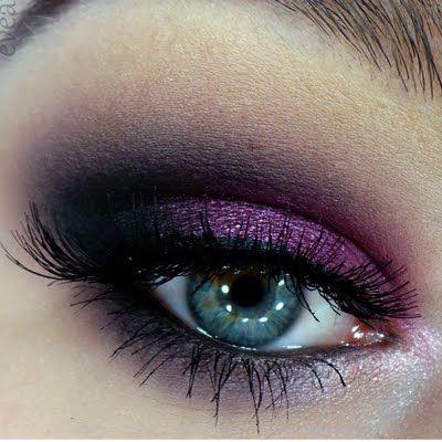 This purple smokey eye is a must try on your next night out! Check out the one palette to recreate this sultry look.