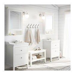 HEMNES Banc, blanc - 83 cm - IKEA