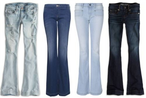 Flare jeans Get the Bohemian look