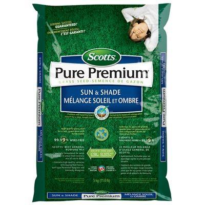 Scotts 11-lb Pure Premium Sun & Shade Grass Seed