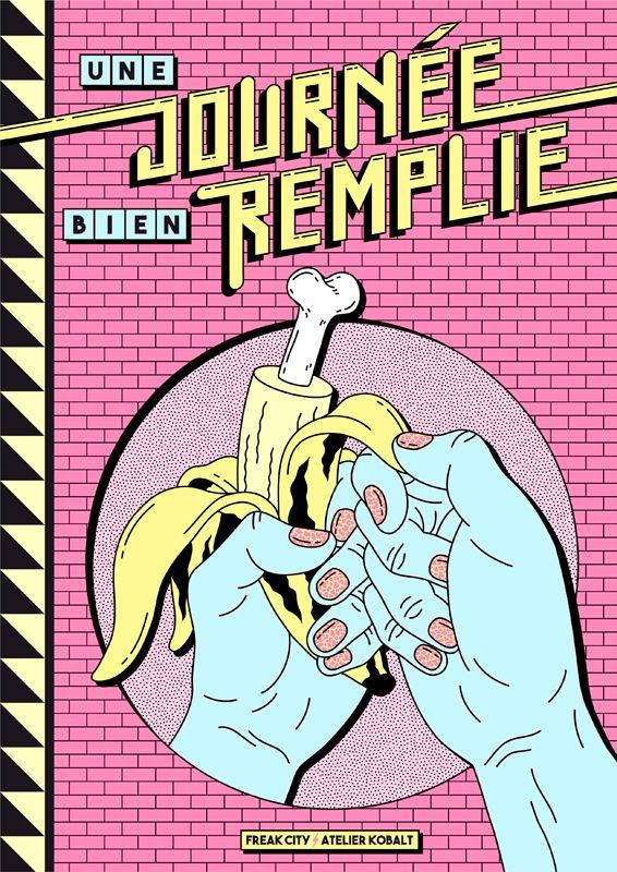 Livre Freak City Atelier Kobalt Banana Brick Pattern 80s