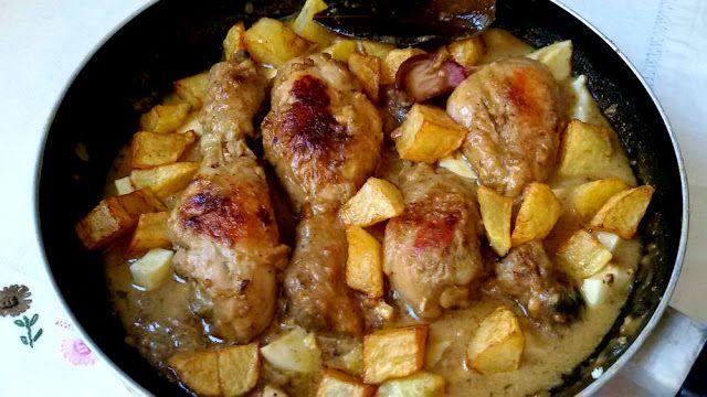 Anna recetas fáciles: Pollo en pepitoria o pollo al huevo