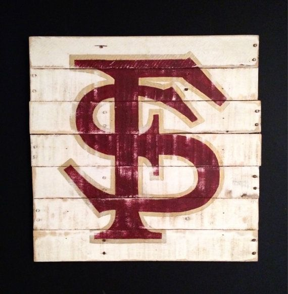 unique gothic jewelry Wood wall hanging Hand painted on reclaimed wood Great for a Man Cave Dorm Room graduation gift or for the sports fan in your life Available