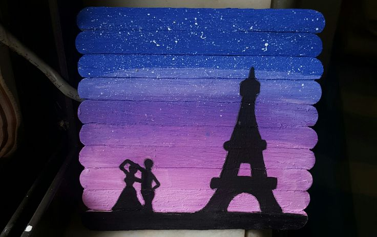 A beautiful night in the city of love