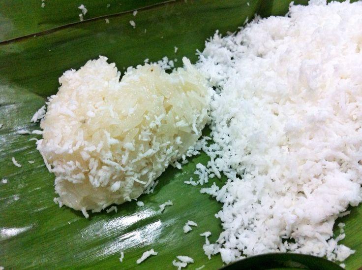 Ketan Urap *sticky rice