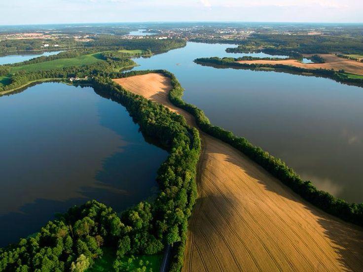 Ilawa lake district, Poland