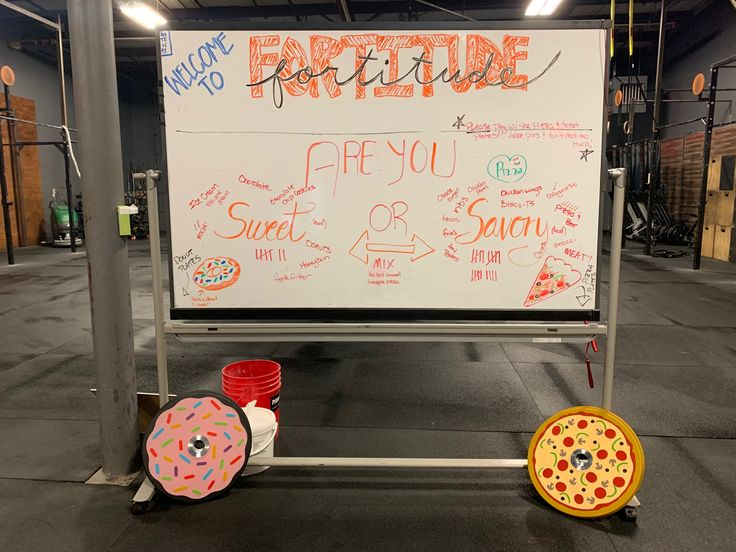 Do you crave sweet or savory? Fortitude Strength voted and